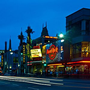 10. L'historique Hollywood Boulevard