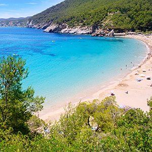 7. Las Salinas à Ibiza en Espagne