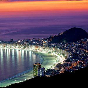 3. Copacabana à Rio de Janeiro au Brésil