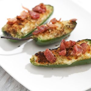 8. Jalapenos farcis au fromage