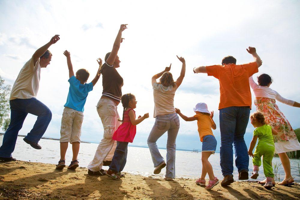 Les joies et défis de vivre dans une famille élargie