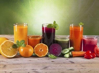 Mauvais choix: Jus de fruits et de légumes