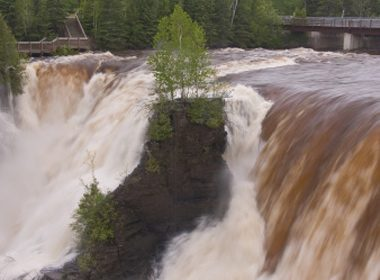 Les chutes de Kakabeka - Oliver Paipoonge, Ontario