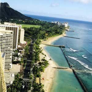 9. Le littoral de Waikiki