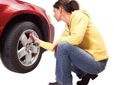 Garder les pneus à la bonne pression
