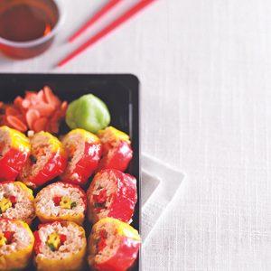 Kid's Fruity Sushi