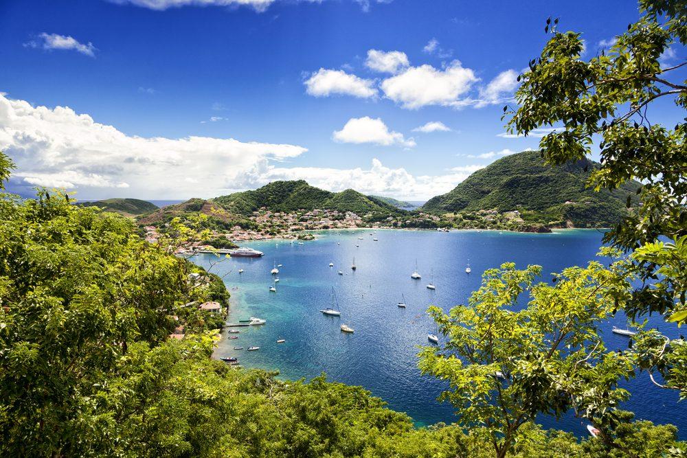 La Guadeloupe.