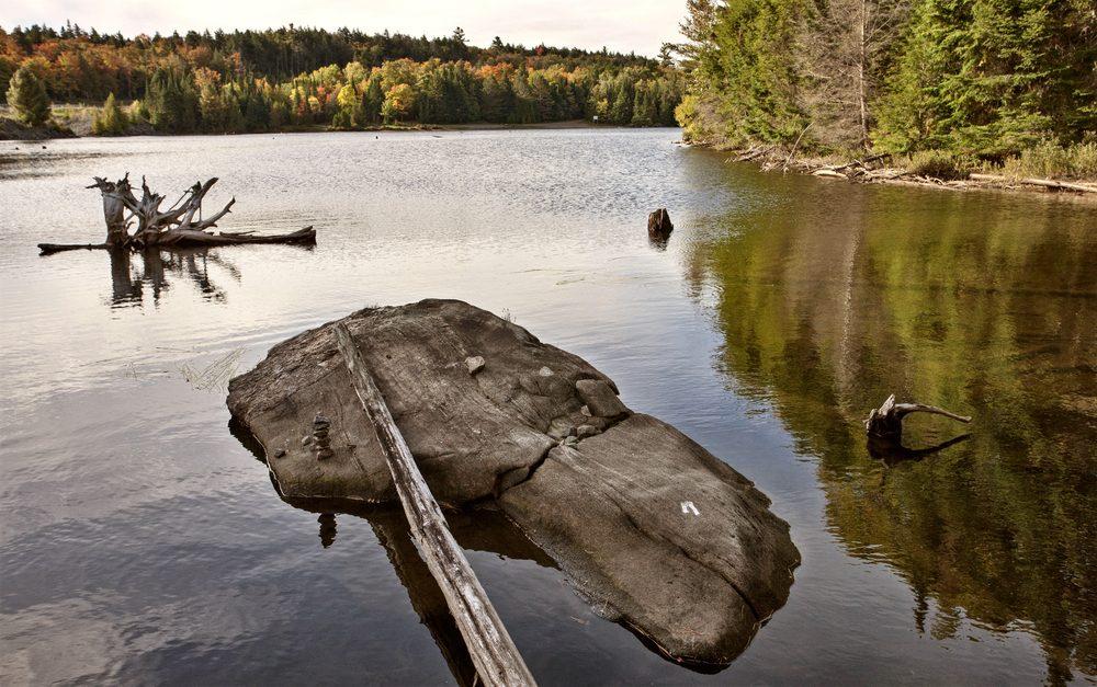 Les lacs Muskoka, Ontario.