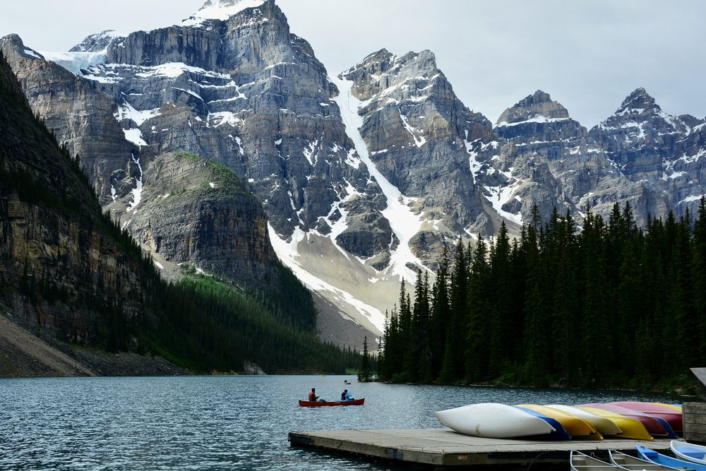 Banff et le lac Louise, Alberta : l'un des plus spectaculaires endroits au Canada