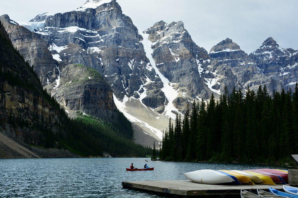 Le lac Louise.