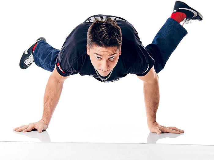 Luca «Lazylegz» Patuelli: danseur sans limites