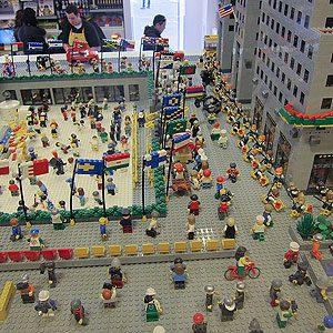 5. LEGO, New York, États-Unis
