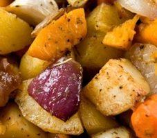 8. Légumes à l'indienne