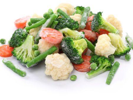 Légumes surgelés et fraîcheur
