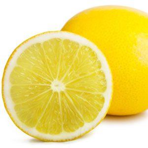 5. Le jus de citron