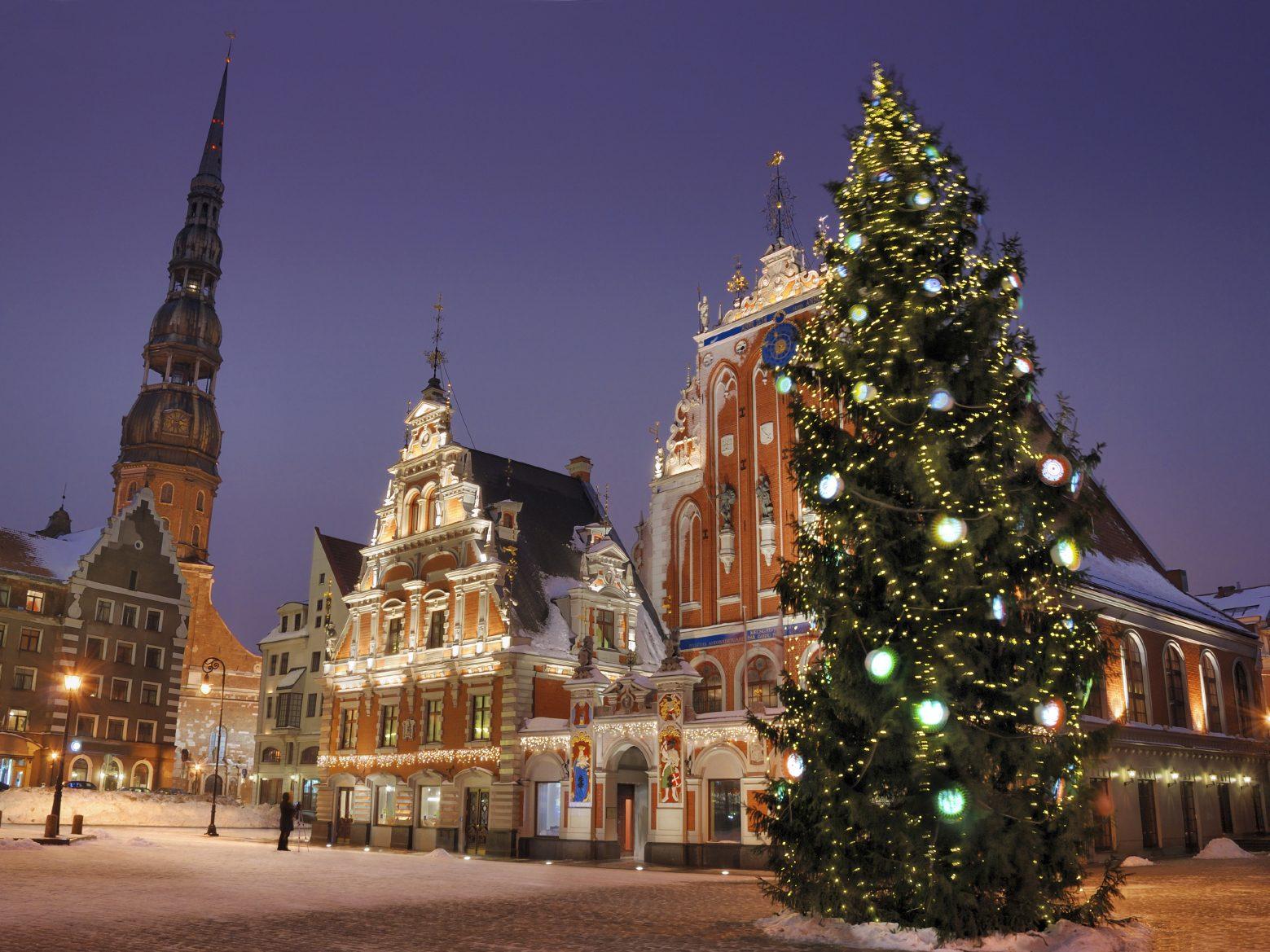 Noël en Lettonie