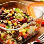 Salade de haricots à la mexicaine