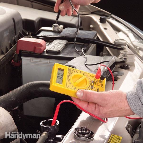 Liquide de refroidissement contr ler le niveau avec un for Controler un condensateur avec un multimetre