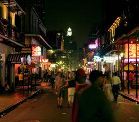 1. Le Vieux Carré (French Quarter), La Nouvelle-Orléans, Louisiane