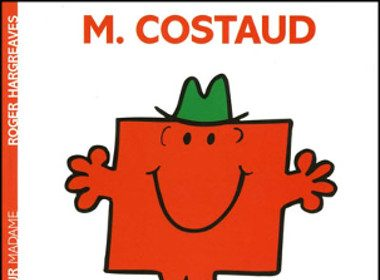 4. Monsieur Costaud de Roger Hargreaves, Hachette jeunesse