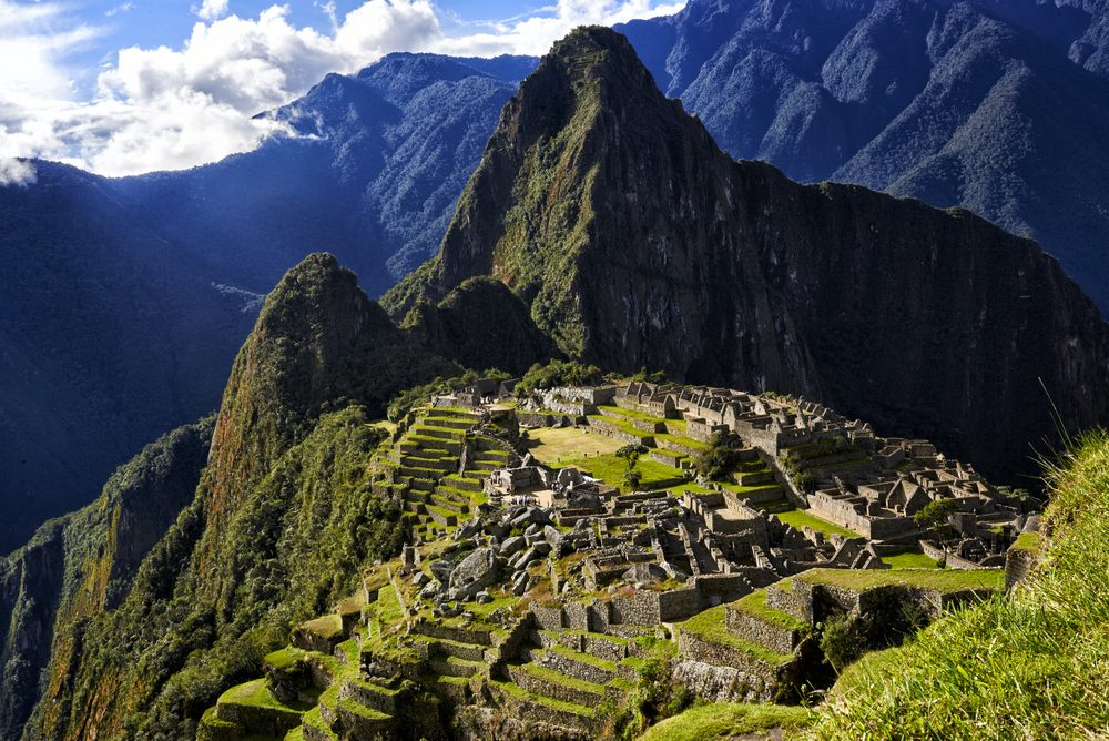 7. Machu Picchu, Pérou