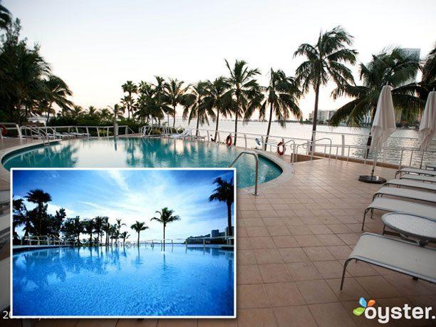 1. L'hôtel Mandarin Oriental à Miami