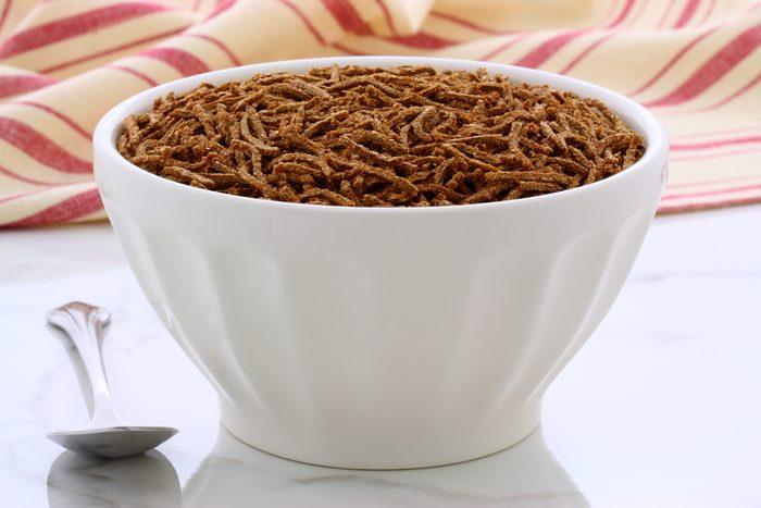 Quel aliment choisir pour avoir plus d'énergie? Un bol de All-Bran (céréales de son).