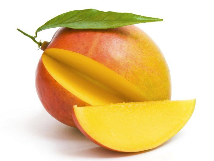 Masque maison à la mangue