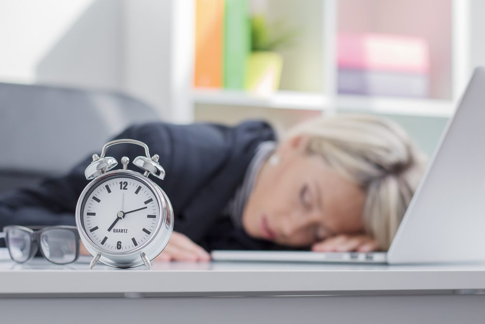 Un faux pas beauté à éviter: ne pas dormir suffisamment