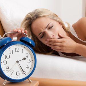 3. Manque de sommeil