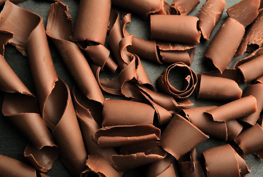 Dessert de mascarpone au gingembre et chocolat