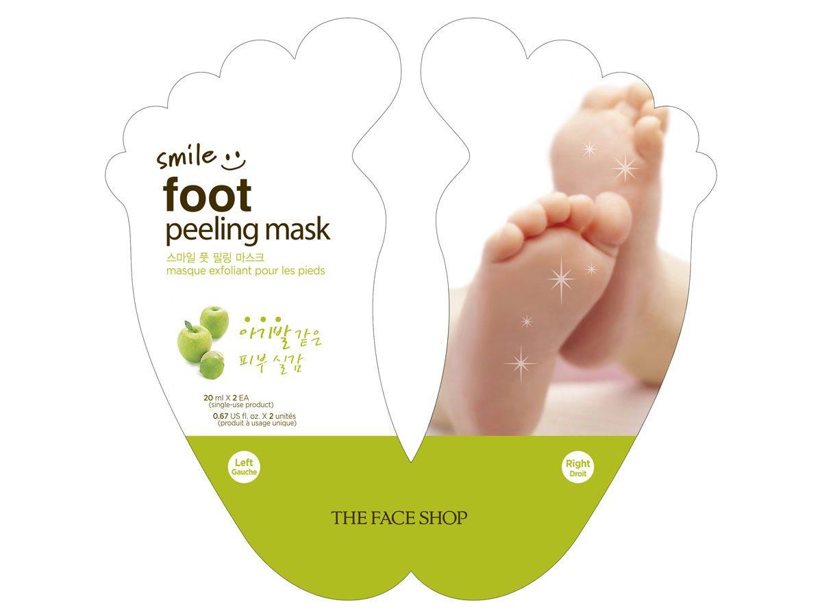 Masque exfoliant pour les pieds Smile Foot - The Face Shop