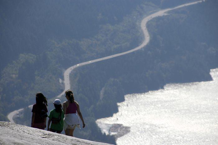 « L'autoroute de la mer au ciel », de Squamish à Whistler, en Colombie-Britannique