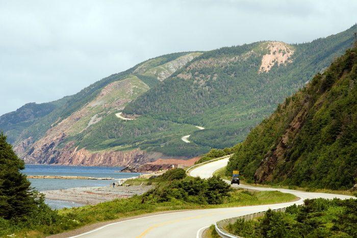 Un des plus beaux road trips au Canada est la Piste Cabot, au Cap-Breton, en Nouvelle-Écosse