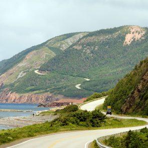 La piste Cabot en Nouvelle-Écosse fait partie des plus beau road trip à faire au Canada.