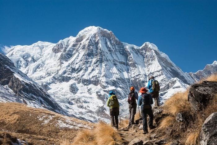 Randonnée: le circuit de l'Annapurna au Népal offre 206 kilomètres à travers un paysage extraordinaire.