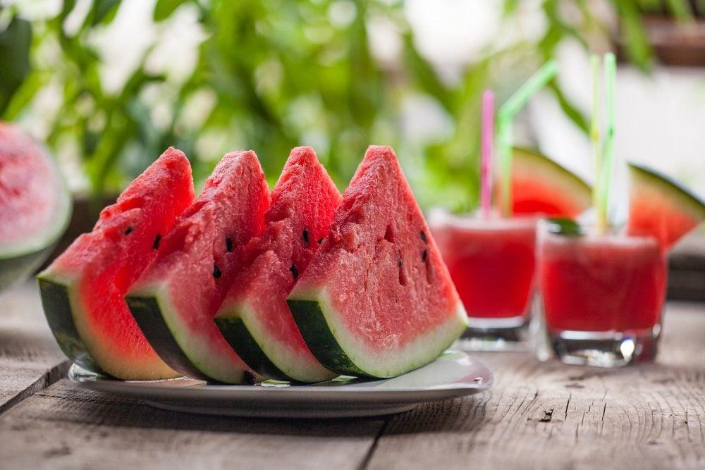 Le melon d'eau permet un meilleur contrôle du poids