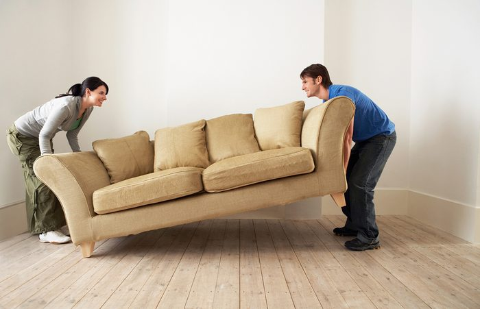 20. Déplacez vos meubles!