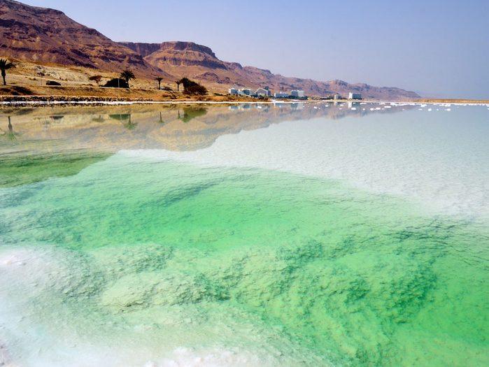 Le selfie le plus cool: la mer morte, Israël