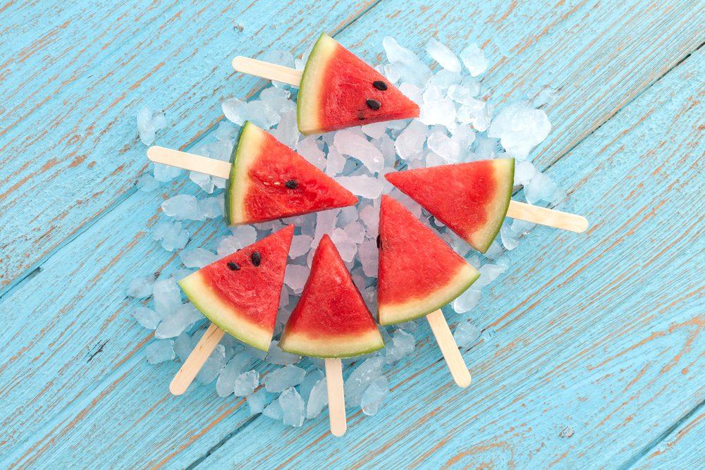 Où devriez-vous conserver votre melon d'eau?