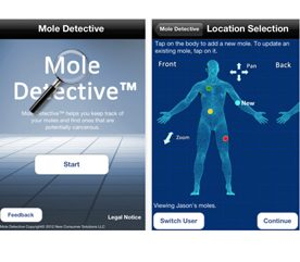 4. L'application Mole Detective