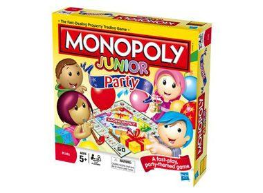 8. Monopoly Junior Party - 14,99$