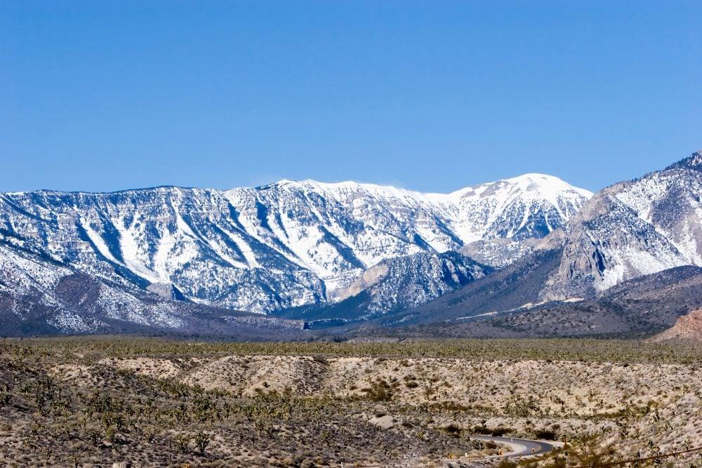 6. Le mont Charleston: du ski à quelques minutes de Las Vegas!