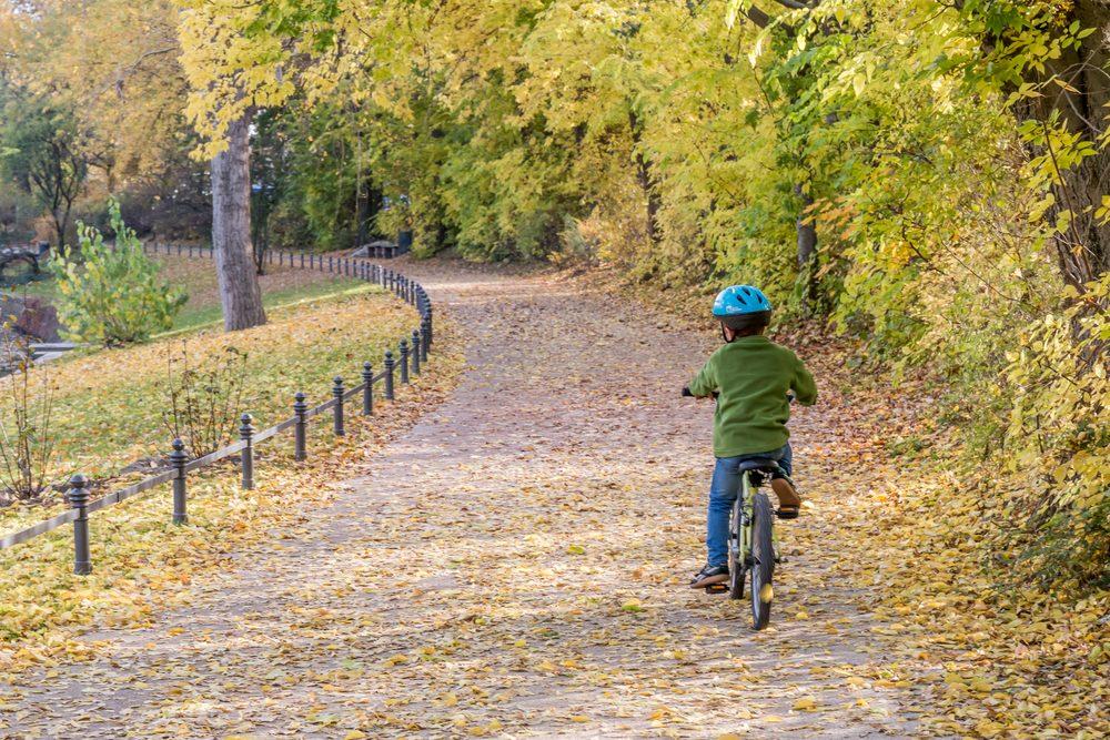 Une fois qu'on a enfourché son vélo... il faut continuer