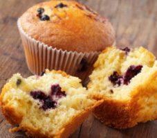 3. Muffins aux bleuets et à la citrouille