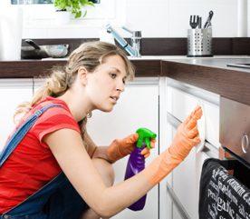 5 r gles pour nettoyer la cuisine comme un pro. Black Bedroom Furniture Sets. Home Design Ideas