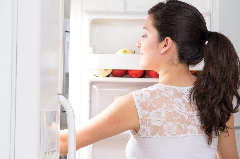 14. Nettoyez votre réfrigérateur