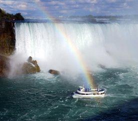 Le rideau d'eau de l'Ontario