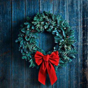 10. Confectionnez vos propres couronnes de Noël