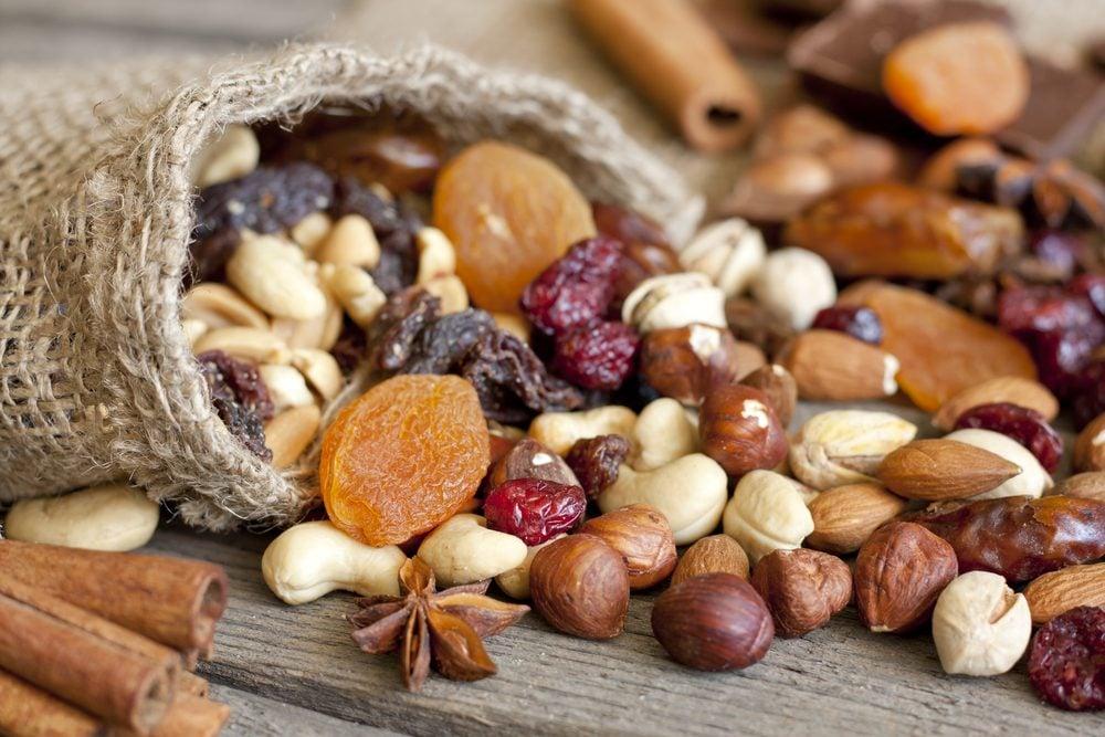 Aliment beauté : les noix pour une belle peau.